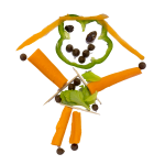 veggie man transparent