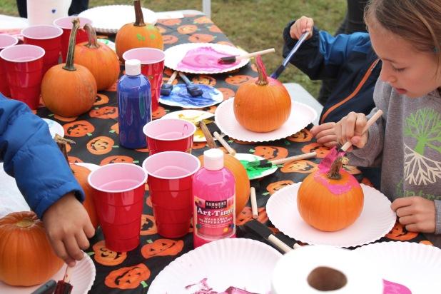 pumpkin painting 1
